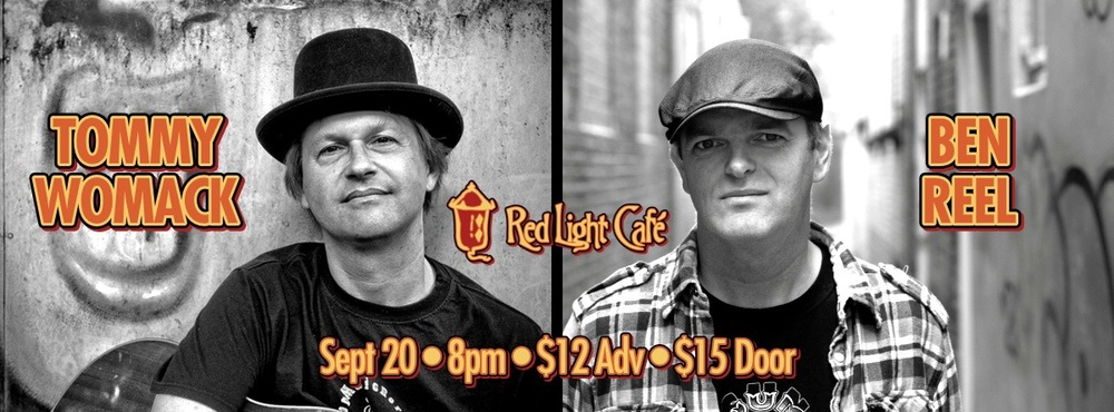 Tommy Womack / Ben Reel – September 20, 2013 – Red Light Café, Atlanta, GA