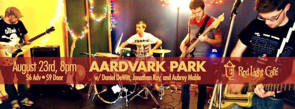 Aardvark Park – August 23, 2013 – Red Light Café, Atlanta, GA