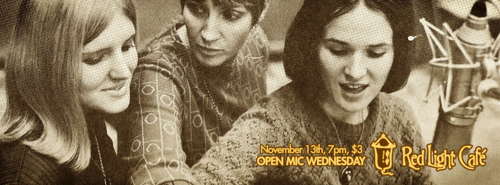 Open Mic Wednesday — November 13, 2013 — Red Light Café, Atlanta, GA