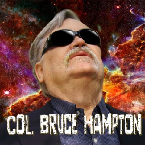 Col. Bruce Hampton at Red Light Café
