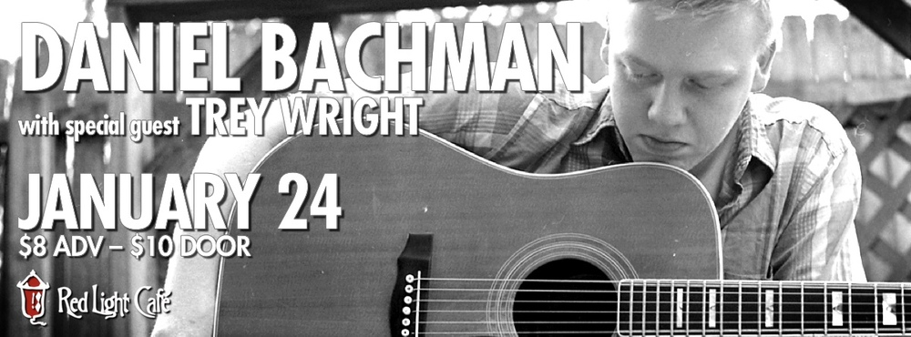 Daniel Bachman w/ Trey Wright — January 24, 2014 — Red Light Café, Atlanta, GA