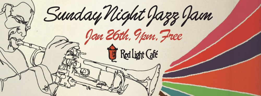 Jazz Jam with Louis Heriveaux, Tommy Sauter & Kinah Boto — January 26, 2014 — Red Light Café, Atlanta, GA
