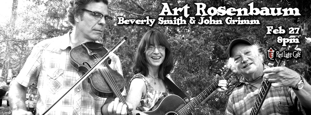 Art Rosenbaum w/ Beverly Smith & John Grimm at Red Light Café, Atlanta, GA