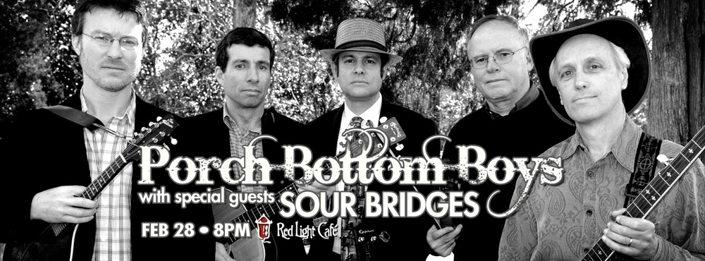 Porch Bottom Boys with Sour Bridges at Red Light Café, Atlanta, GA