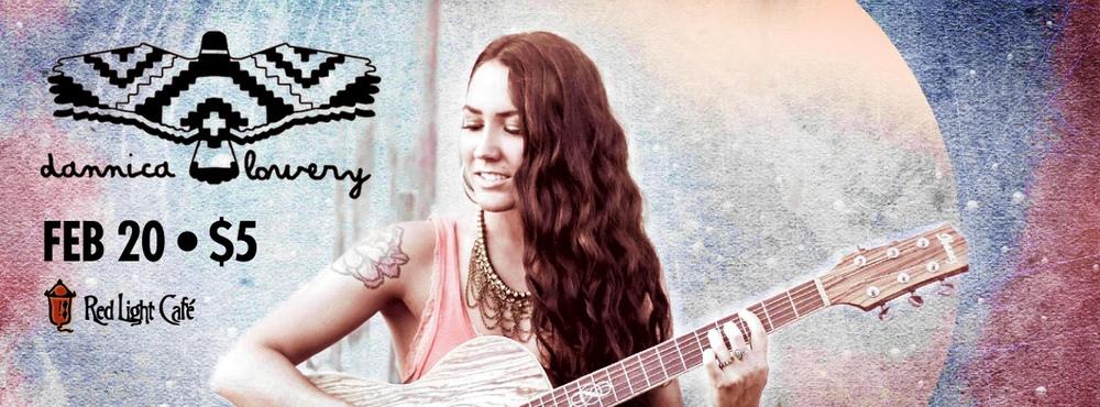Dannica Lowery @ RLC Bluegrass Thursday — February 20, 2014 — Red Light Café, Atlanta, GA