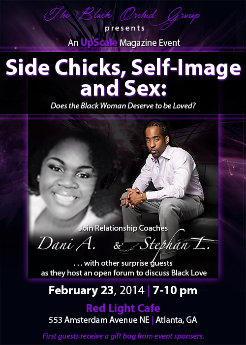 The Black Orchid Group presents An UpScale Magazine Event — February 23, 2014 — Red Light Café, Atlanta, GA