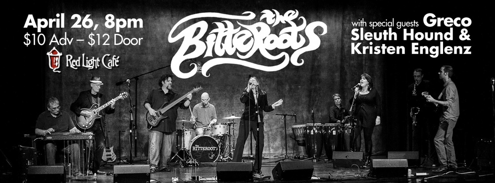 The Bitteroots • Greco • Sleuth Hound • Kristen Englenz — April 26, 2014 — Red Light Café, Atlanta, GA