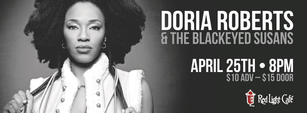 Doria Roberts & The Blackeyed Susans at Red Light Café, Atlanta, GA