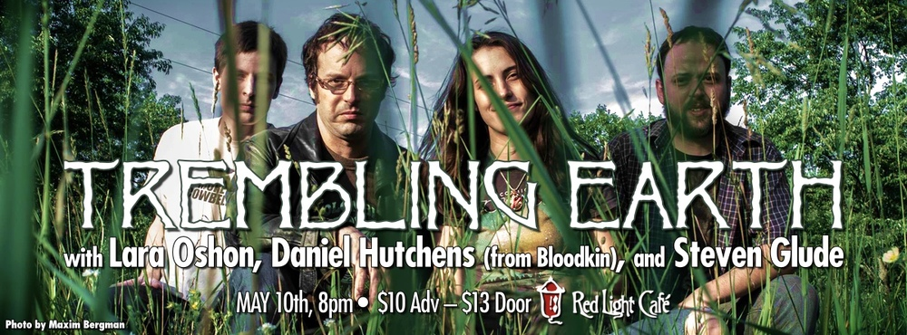 Trembling Earth w/ Daniel Hutchens (from Bloodkin), and Steven Glude at Red Light Café, Atlanta, GA