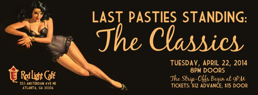 Last Pasties Standing: A Burlesque Game Show at Red Light Café, Atlanta, GA