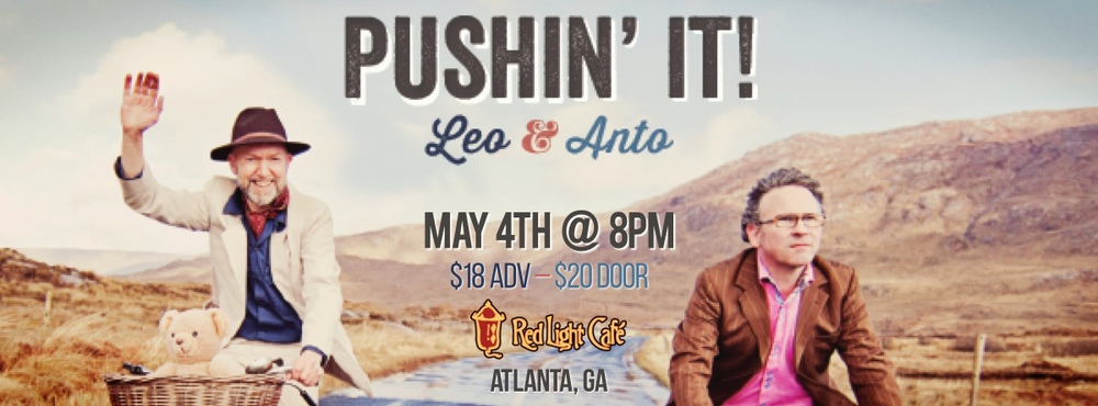 Leo & Anto — May 4, 2014 — Red Light Café, Atlanta, GA