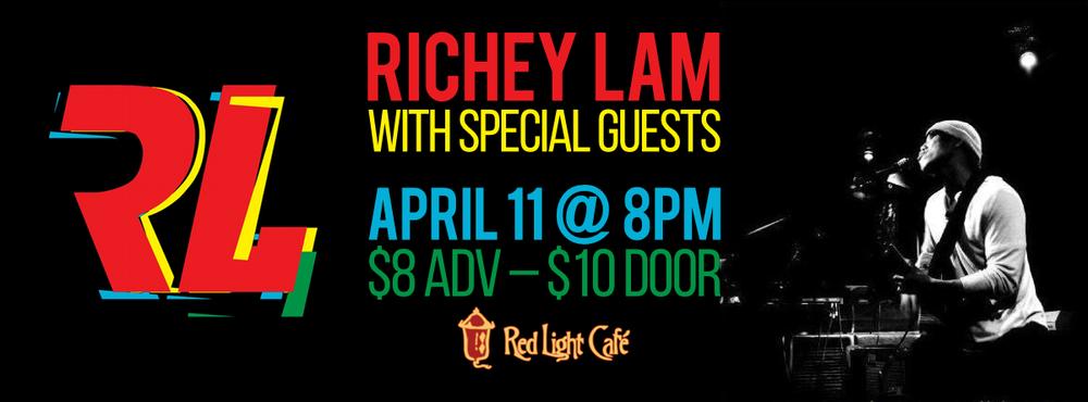 Richey Lam at Red Light Café, Atlanta, GA