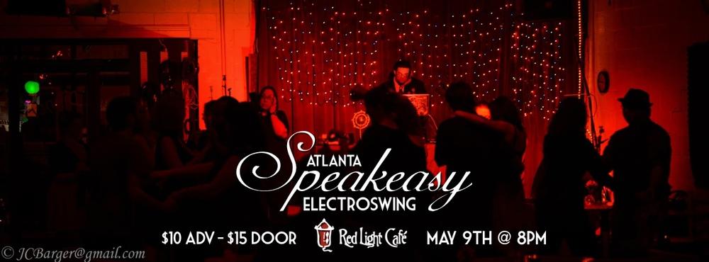 Speakeasy Electro Swing Atlanta at Red Light Café, Atlanta, GA