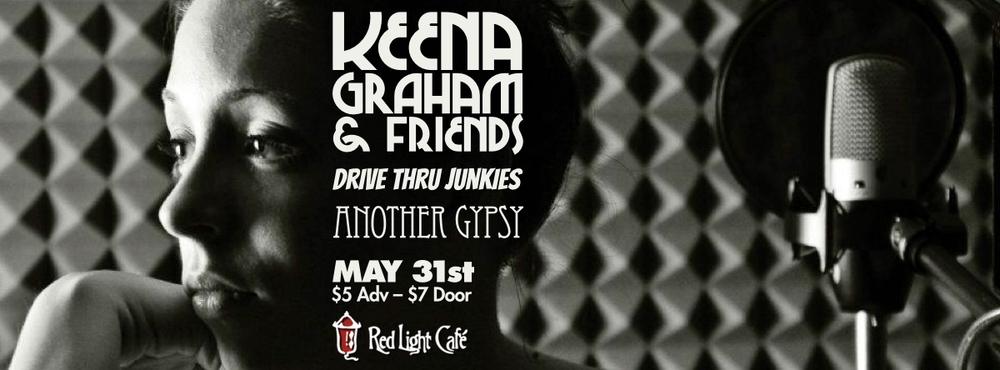 Keena & The Graham Crackers with Drive Thru Junkies + Another Gypsy at Red Light Café, Atlanta, GA