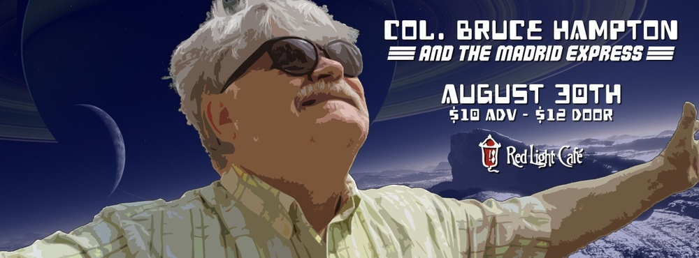 Col. Bruce Hampton at Red Light Café, Atlanta, GA