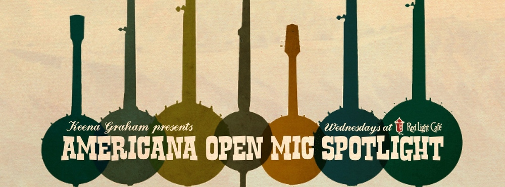 Americana Open Mic Spotlight — August 6, 2014 — Red Light Café, Atlanta, GA