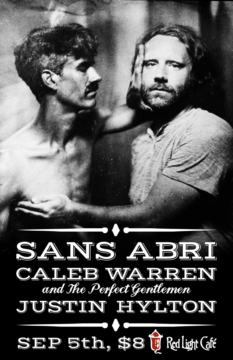 Sans Abri + Caleb Warren & TPG + Justin Hylton — September 5, 2014 — Red Light Café, Atlanta, GA