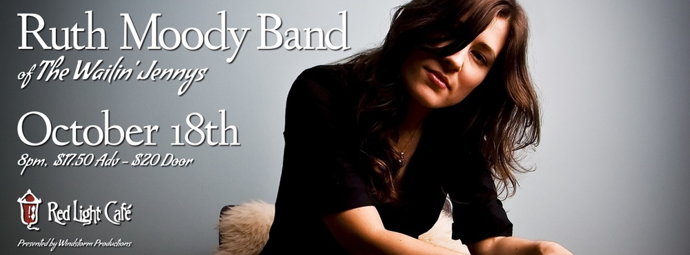 Ruth Moody — October 18, 2014 — Red Light Café, Atlanta, GA