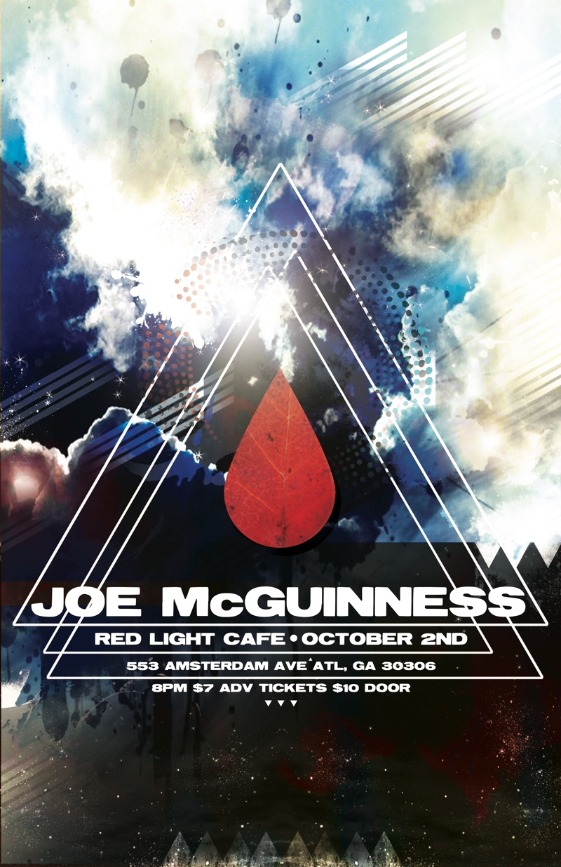 Joe McGuinness w/ Bill Sheffield — October 2, 2014 — Red Light Café, Atlanta, GA