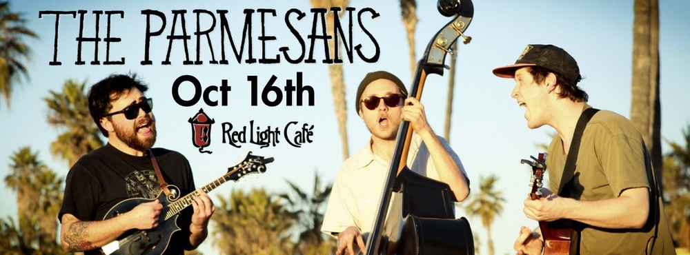 The Parmesans w/ Alex & Todd — October 16, 2014 — Red Light Café, Atlanta, GA