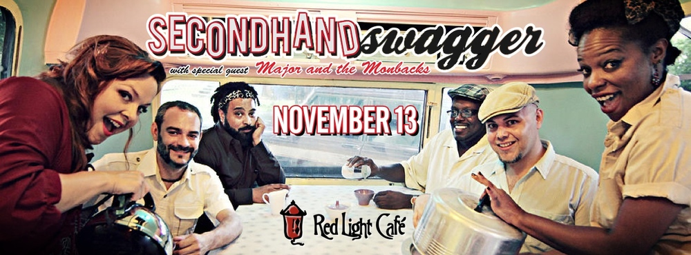 Secondhand Swagger w/ Major and the Monbacks — November 13, 2014 — Red Light Café, Atlanta, GA