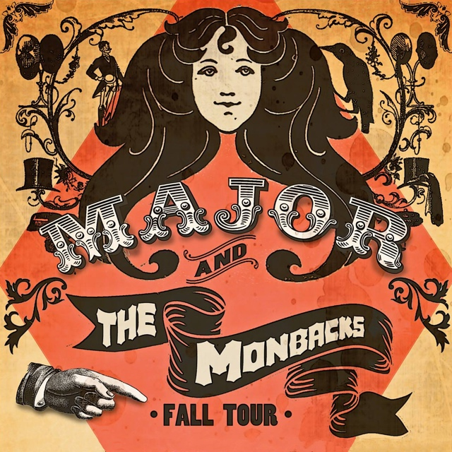 Major and the Monbacks   — November 13, 2014 — Red Light Café, Atlanta, GA