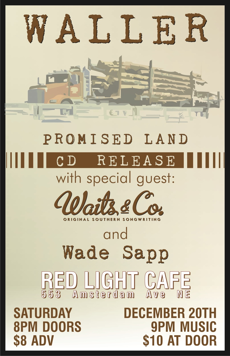Waller CD Release Show — December 20, 2014 — Red Light Café, Atlanta, GA