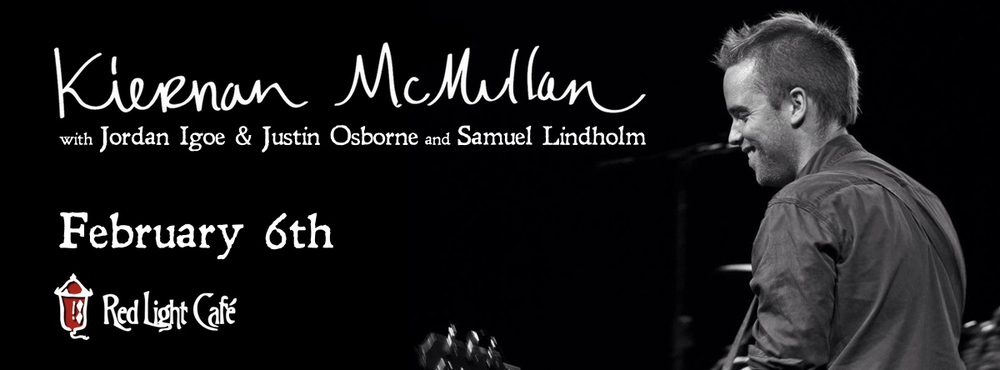 Kiernan McMullan + Jordan Igoe & Justin Osborne + Samuel Lindholm — February 6, 2015 — Red Light Café, Atlanta, GA