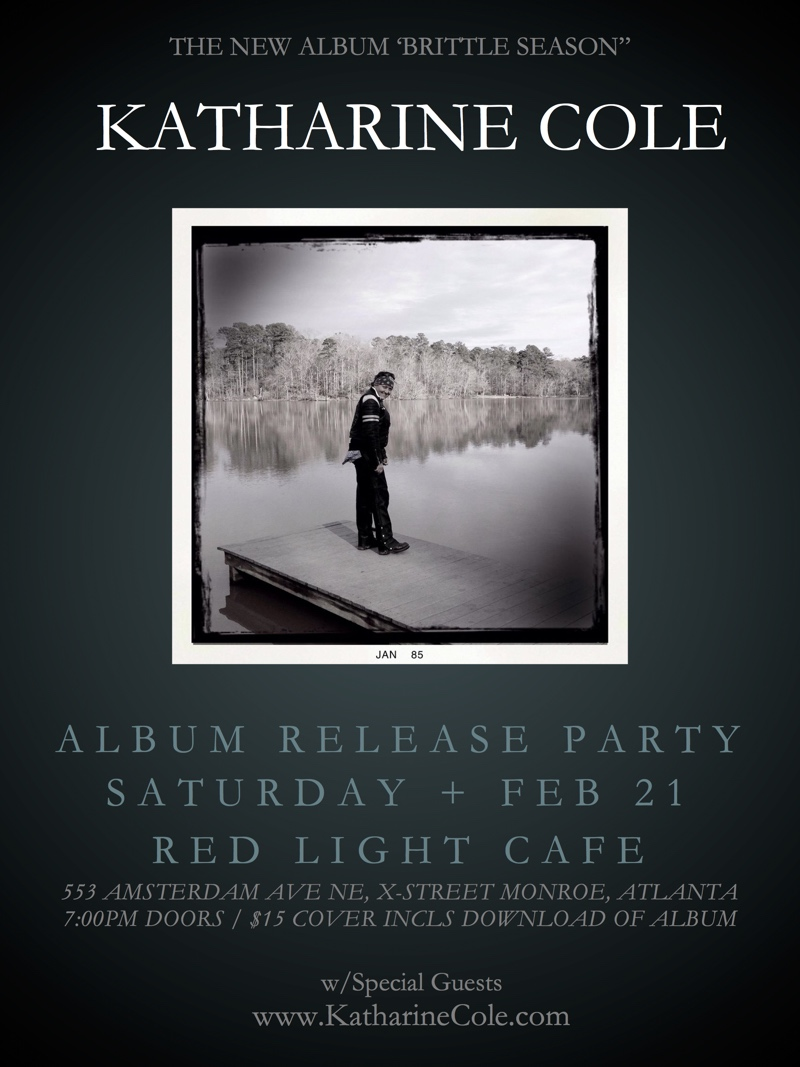 Katharine Cole Album Release Party — February 21, 2015 — Red Light Café, Atlanta, GA
