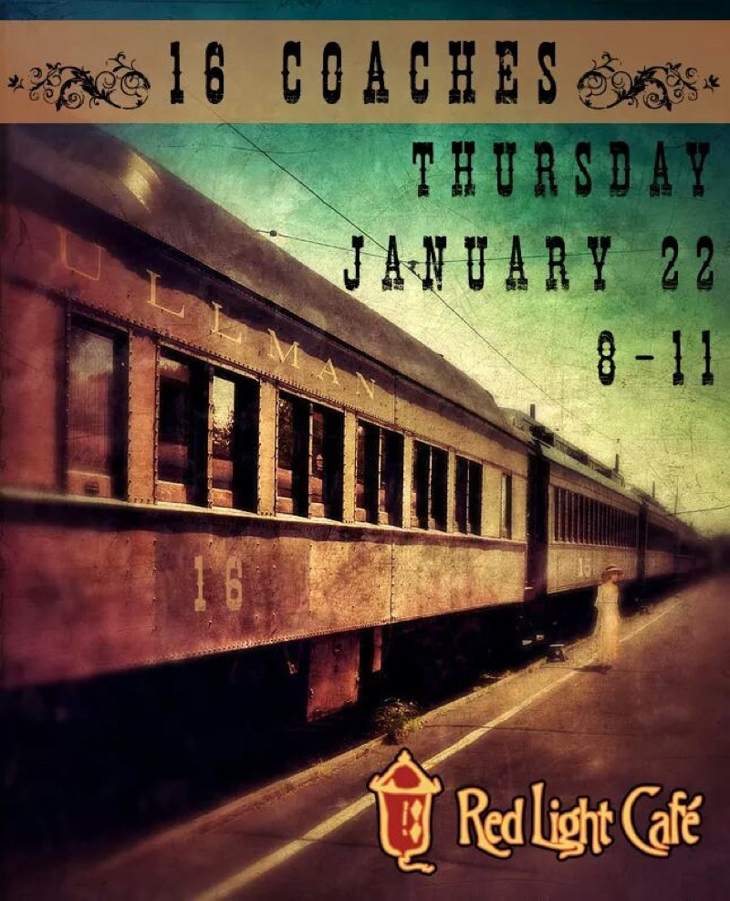 16 Coaches — January 22, 2015 — Red Light Café, Atlanta, GA
