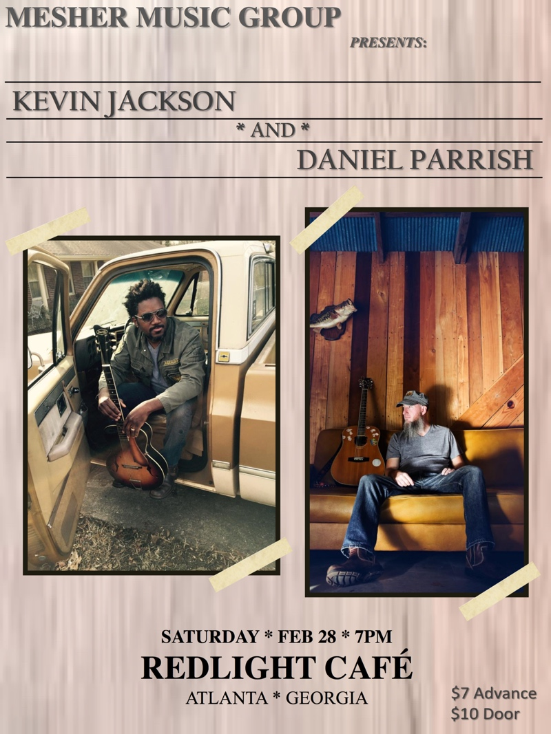 Kevin Jackson with Daniel Parrish — February 28, 2015 — Red Light Café, Atlanta, GA