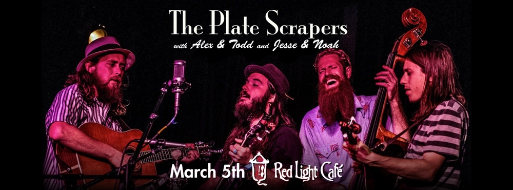 The Plate Scrapers with Alex & Todd and Jesse & Noah — March 5, 2015 — Red Light Café, Atlanta, GA