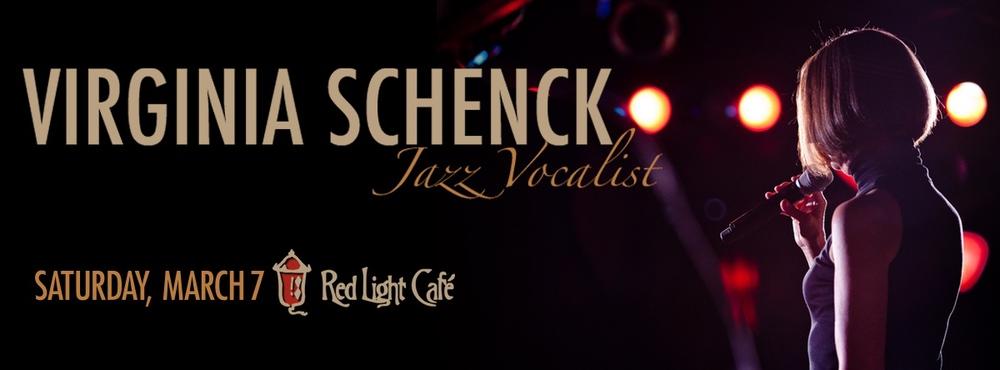 An Evening of Jazz with Virginia Schenck — March 7, 2015 — Red Light Café, Atlanta, GA