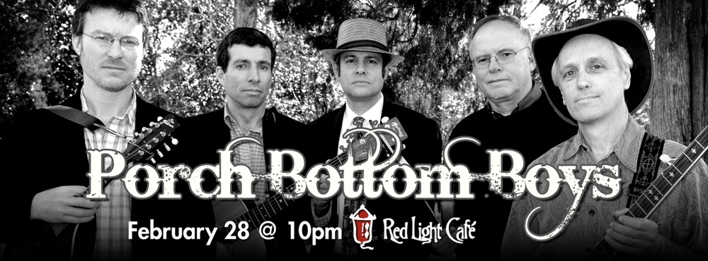 Porch Bottom Boys — February 28, 2015 — Red Light Café, Atlanta, GA
