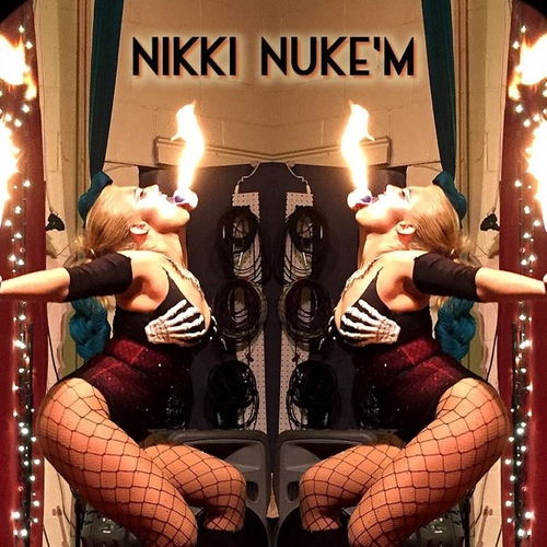 Nikki Nuke'm — March 20, 2015 — Red Light Café, Atlanta, GA