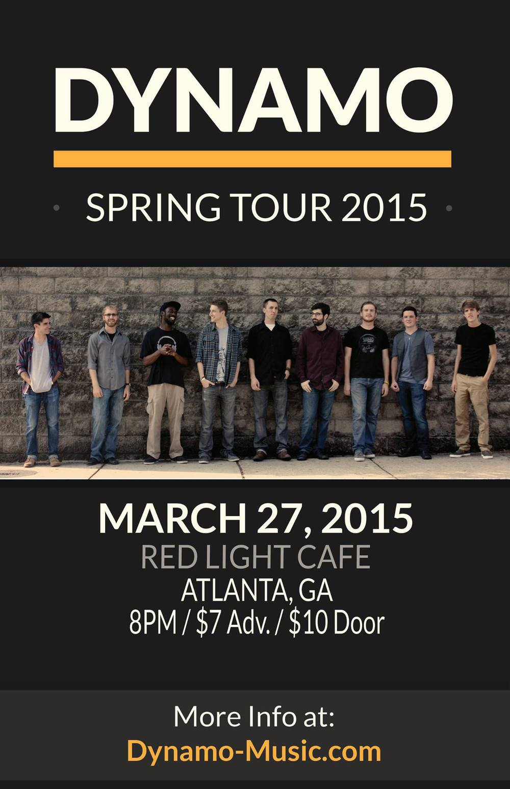 Dynamo — March 27, 2015 — Red Light Café, Atlanta, GA