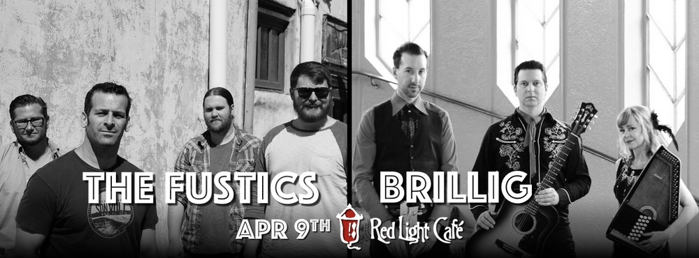 The Fustics + Brillig — April 9, 2015 — Red Light Café, Atlanta, GA