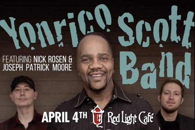 Yonrico Scott Band — April 4, 2015 — Red Light Café, Atlanta, GA