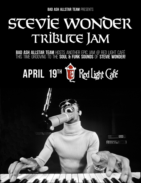 BAAT's Stevie Wonder TRIBUTE JAM — April 19, 2015 — Red Light Café, Atlanta, GA