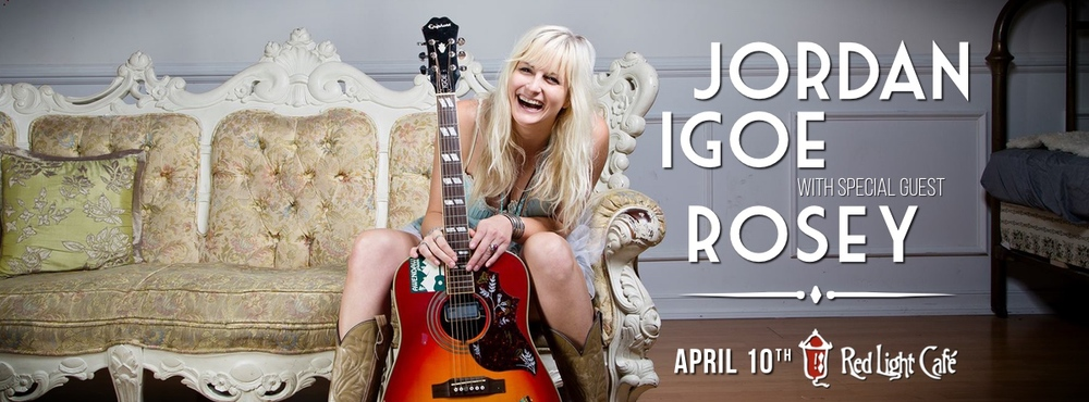 Jordan Igoe with Rosey — April 10, 2015 — Red Light Café, Atlanta, GA