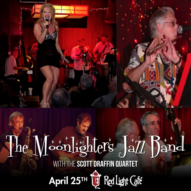 The Moonlighters Jazz Band with Scott Draffin Quartet — April 25, 2015 — Red Light Café, Atlanta, GA