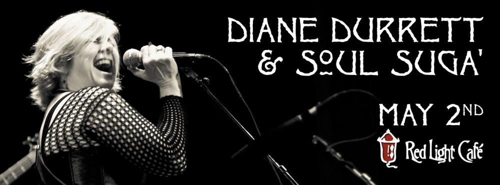 Diane Durrett & Soul Suga' — May 2, 2015 — Red Light Café, Atlanta, GA