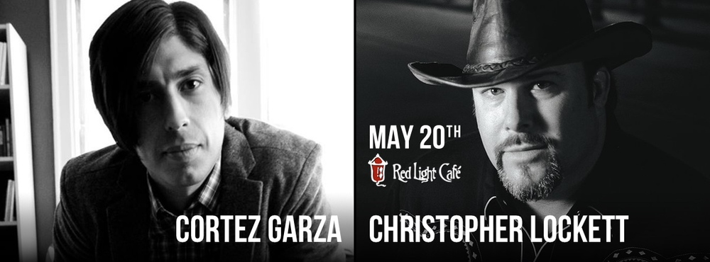Cortez Garza + Christopher Lockett — May 20, 2015 — Red Light Café, Atlanta, GA
