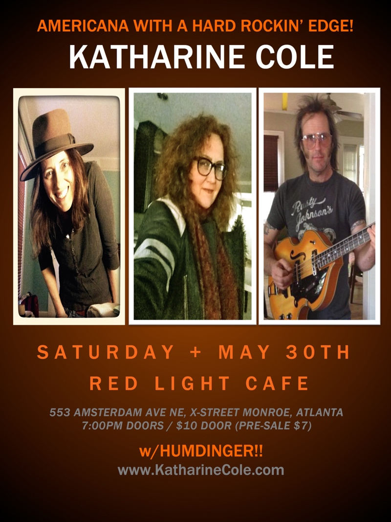 Katharine Cole w/ Humdinger — May 30, 2015 — Red Light Café, Atlanta, GA