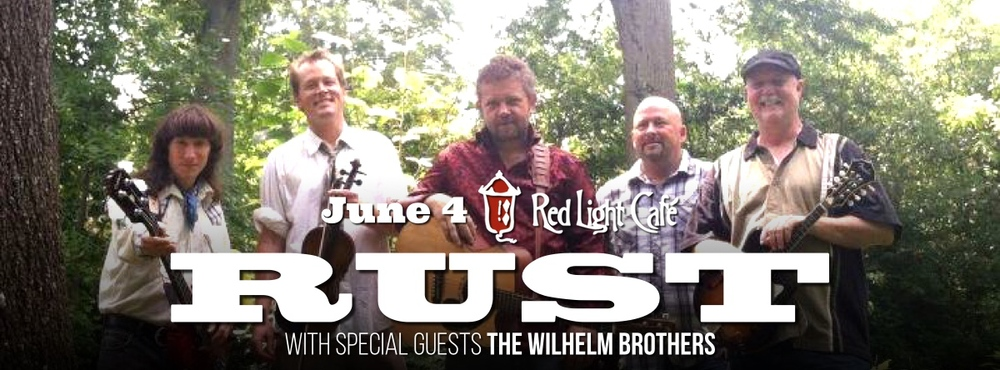Rust w/ The Wilhelm Brothers — June 4, 2015 — Red Light Café, Atlanta, GA