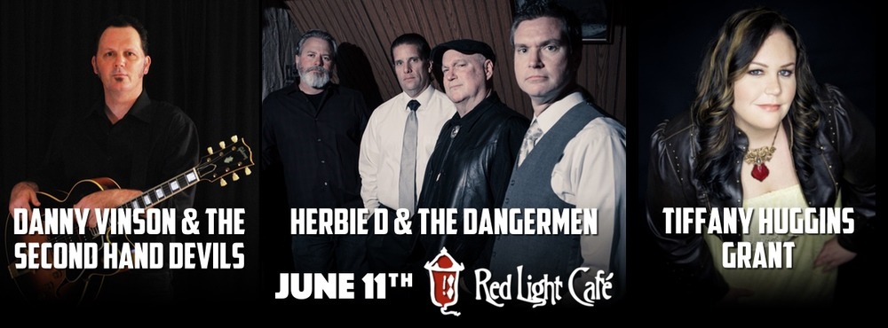 Danny Vinson & The Second Hand Devils + Herbie D & The Dangermen + Tiffany Huggins Grant — June 11, 2015 — Red Light Café, Atlanta, GA