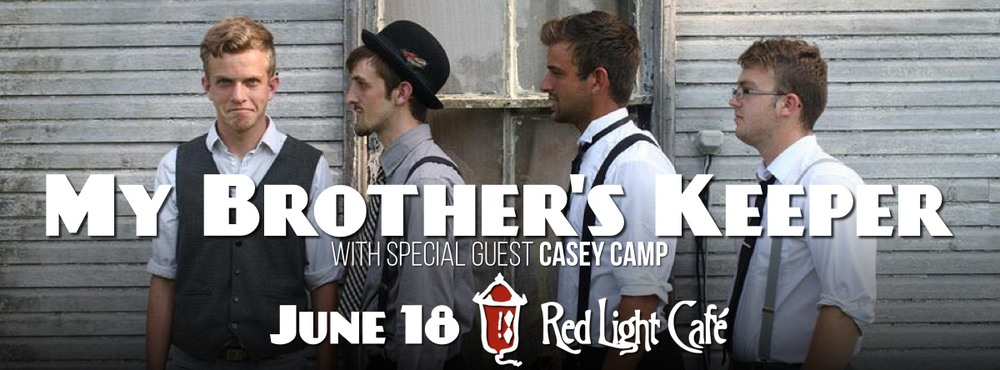 My Brother's Keeper w/ Casey Camp — June 18, 2015 — Red Light Café, Atlanta, GA