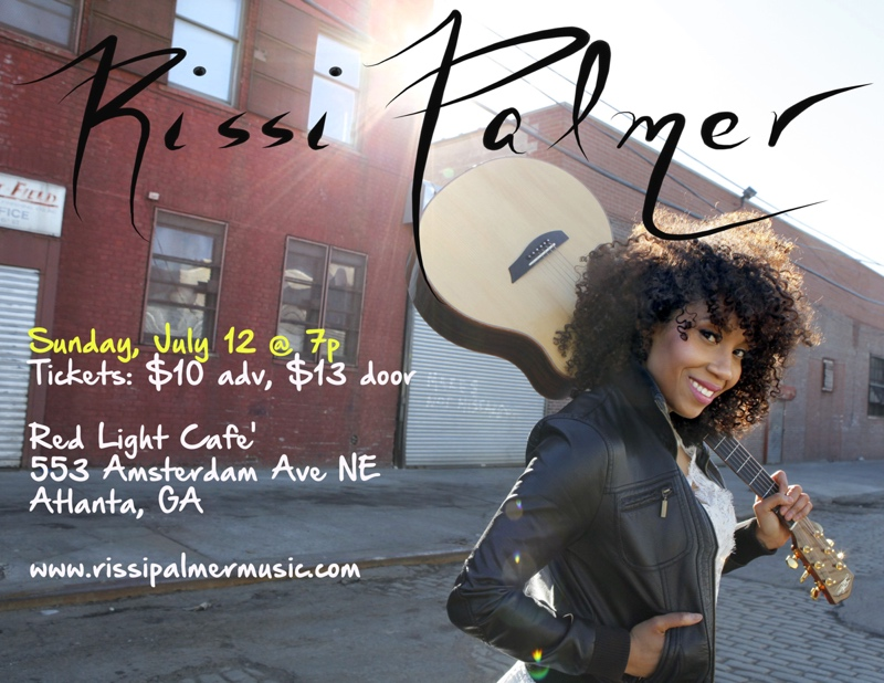 Rissi Palmer — July 12, 2015 — Red Light Café, Atlanta, GA