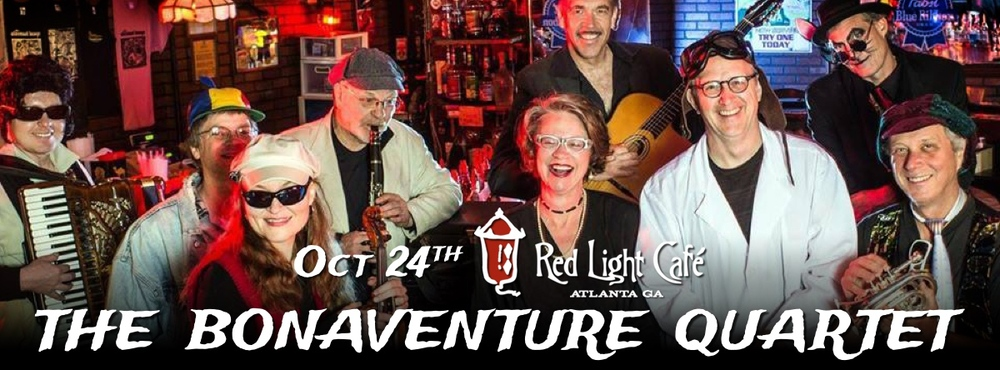 The Bonaventure Quartet feat. Amy Pike — October 24, 2015 — Red Light Café, Atlanta, GA