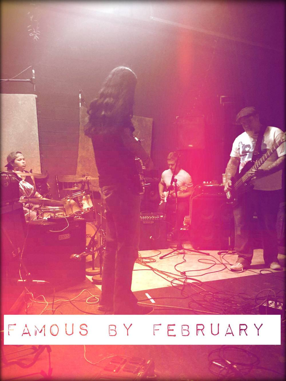 Famous by February — August 29, 2015 — Red Light Café, Atlanta, GA